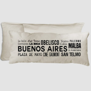 ALMOHADON SIGHT POINTS BUENOS AIRES 70 X 30 CM
